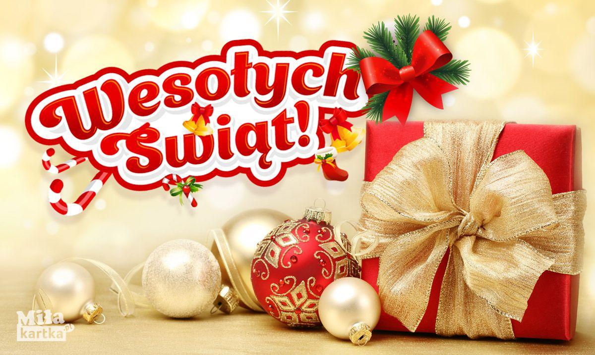 Kartka Na Wigilie I Swieta Bozego Narodzenia Boze Narodzenie