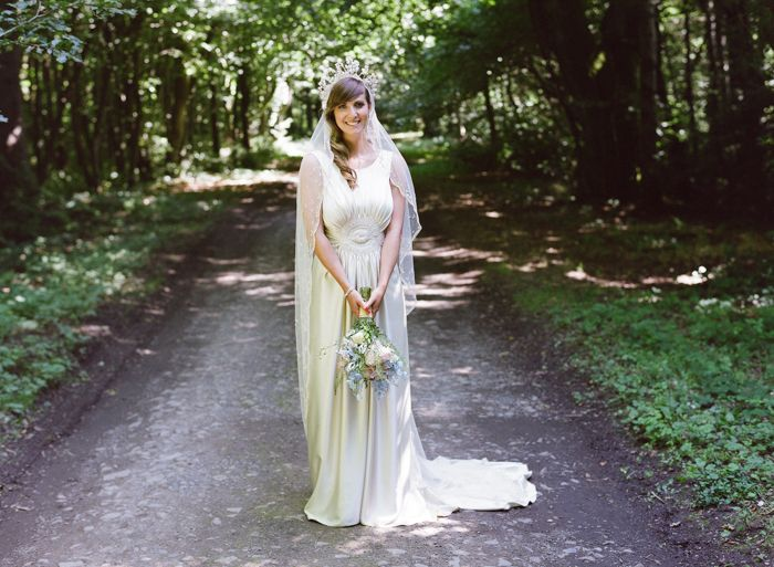 A Stylish and Bohemian Outdoor Wedding by Rosie Anderson