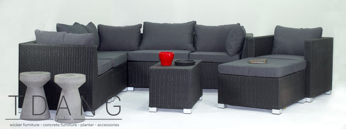 The Kessler Garden Sofa Set Is A Nice Combination Of Style And Comfort Wicker Furniture Enhance Look Outdoor Patio