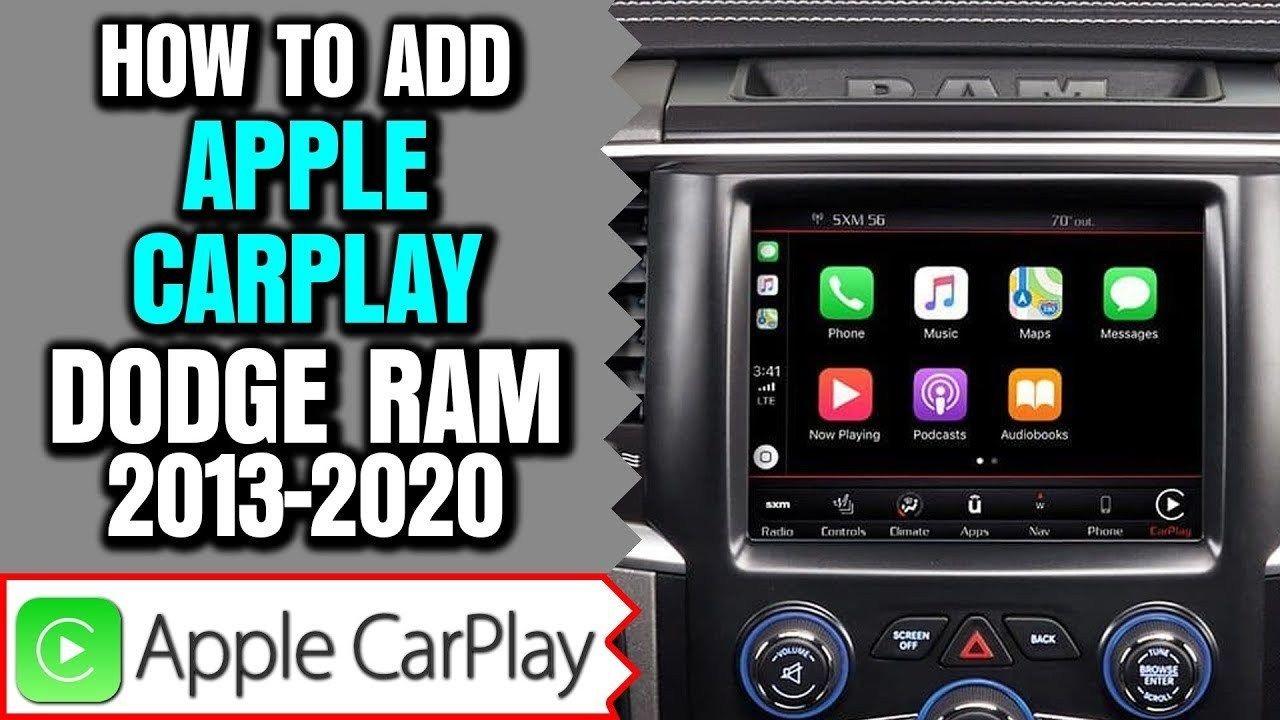 Latest Dodge Ram Ram Apple Carplay Upgrade 2013 2019 Dodge Ram Uconnect 8 4 Apple Carplay Android Auto Upgrade 23465 Virg Dodge Ram Apple Car Play Carplay