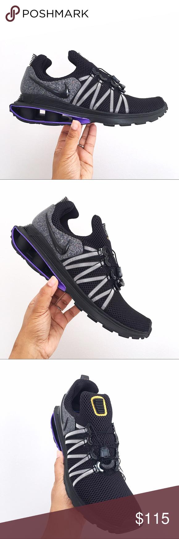 nike shox gravity purple