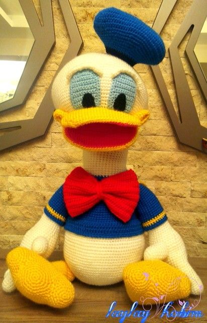 Donald Duck Tricot Pinterest Häkeln Et Häkeln Ideen