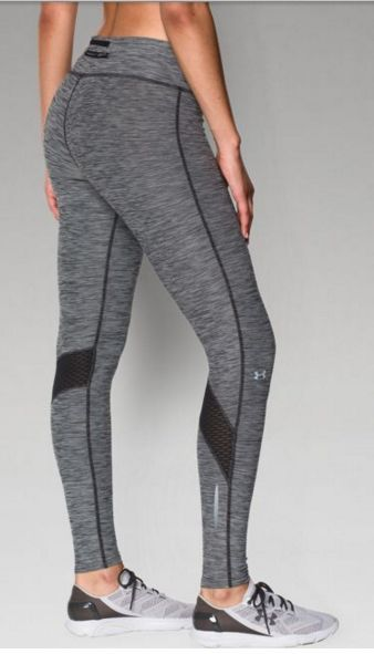 Soft and textured. These Under Armour leggings deliver amazing performance and style.