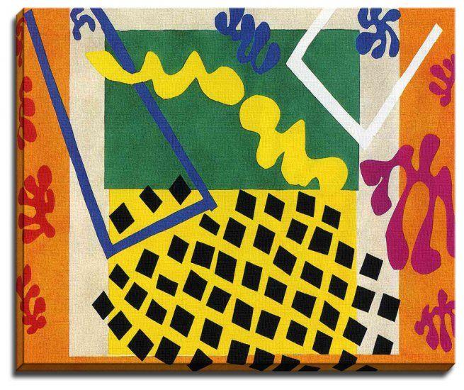 matisse sea life   ... Matisse :: Henri Matisse Series One :: Canvas Print Of Henri Matisse
