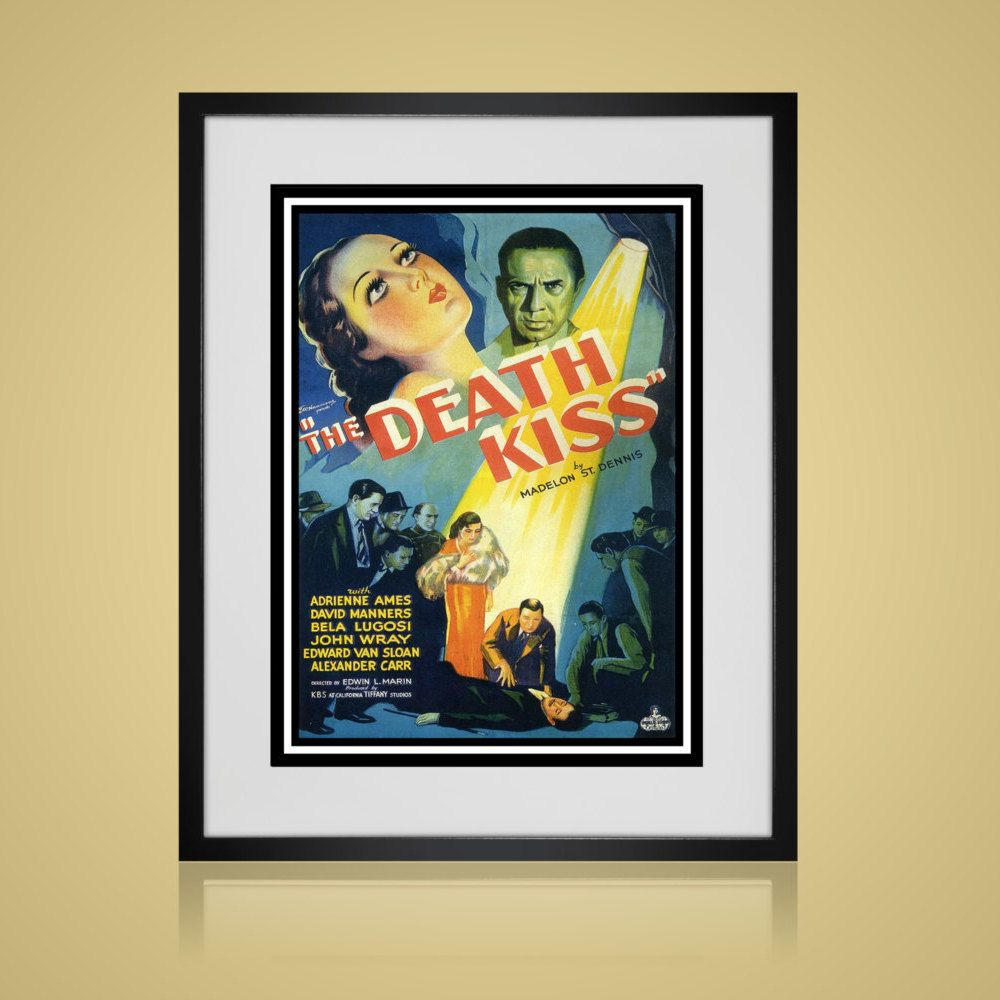 Framed Wall Art - VINTAGE MOVIE POSTER - Wall Art Sets - Available ...