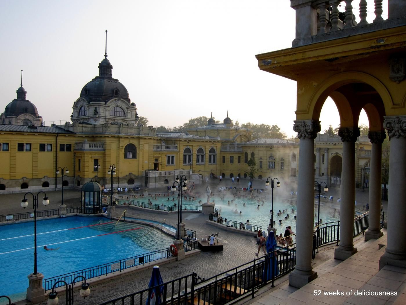 Spa life in Budapest