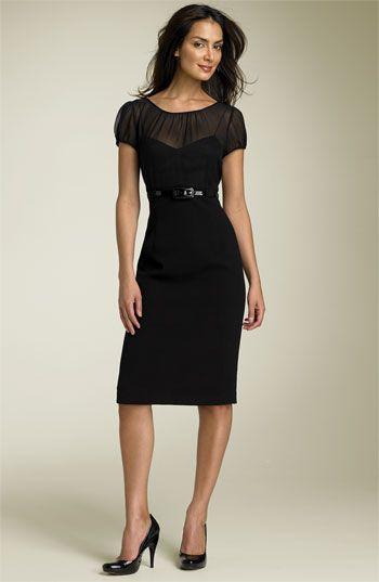 Calvin Klein Illusion Sheath Dress  181f12cfe