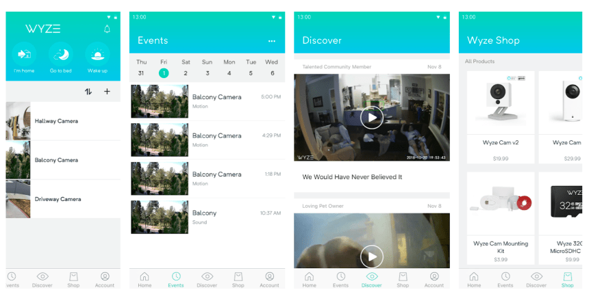 Wyze Cam for PC, Windows, Mac Free Download: Wyze Cam is