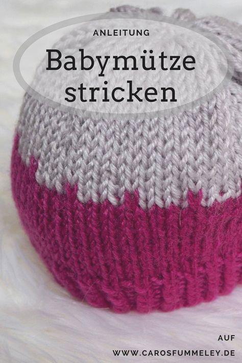 Babymütze Tidbit – Kostenlose Strickanleitung – Caros Fummeley #strickanleitungbaby