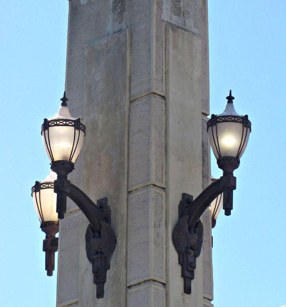 Streetlamp Street Lamp Lights Victorian Era