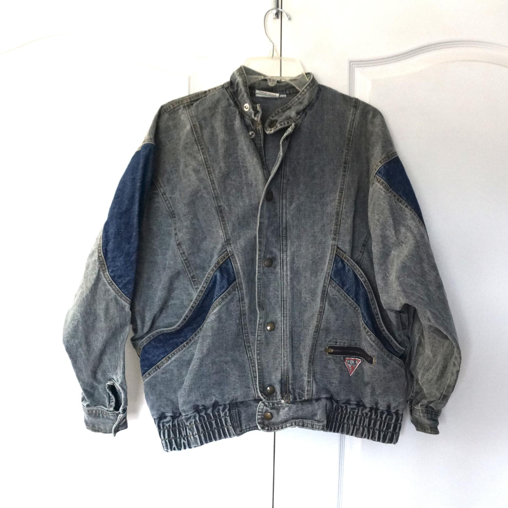 Vintage 80 S Guess Jeans Denim Georges Marciano Jacket Med Etsy In 2021 Guess Jeans Denim Jackets [ 999 x 1000 Pixel ]