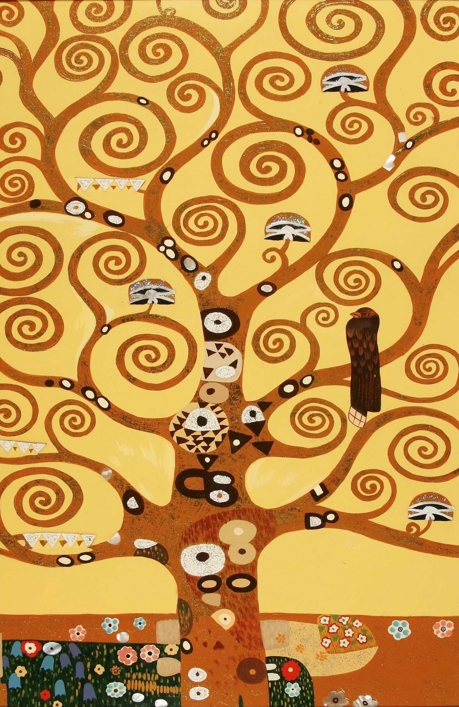 Klimt L Arbre De Vie Tableau ecole élémentaire centre gevrey-chambertin - klimt : l'arbre