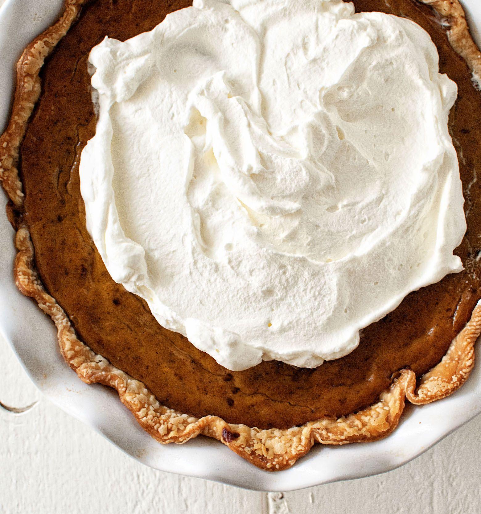 Get Your PSL Fix In Pie Form. Pumpkin Pie With Espresso