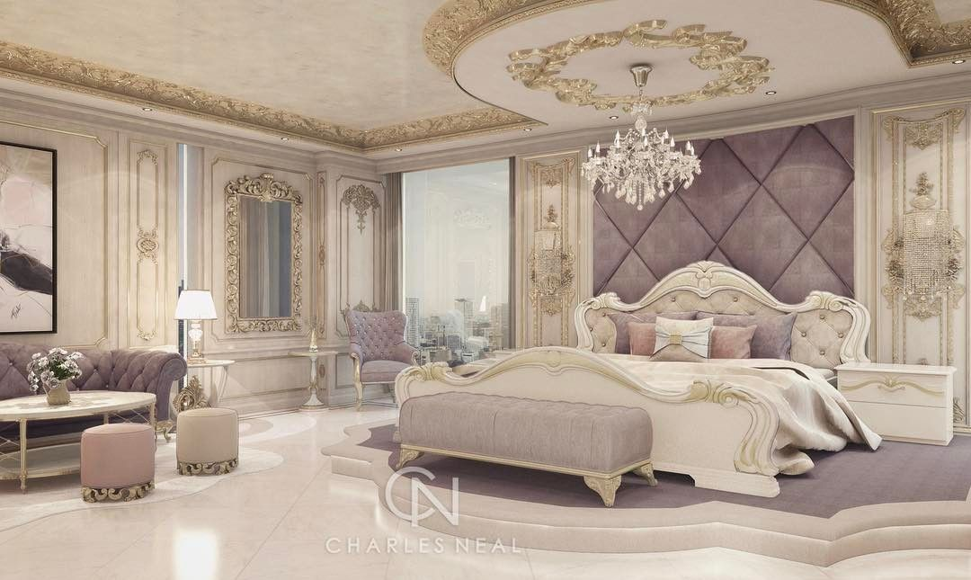 Charles neal on instagram charlesneal glam luxury bedroom bedroomdecor palace for Interior design instagram hashtags