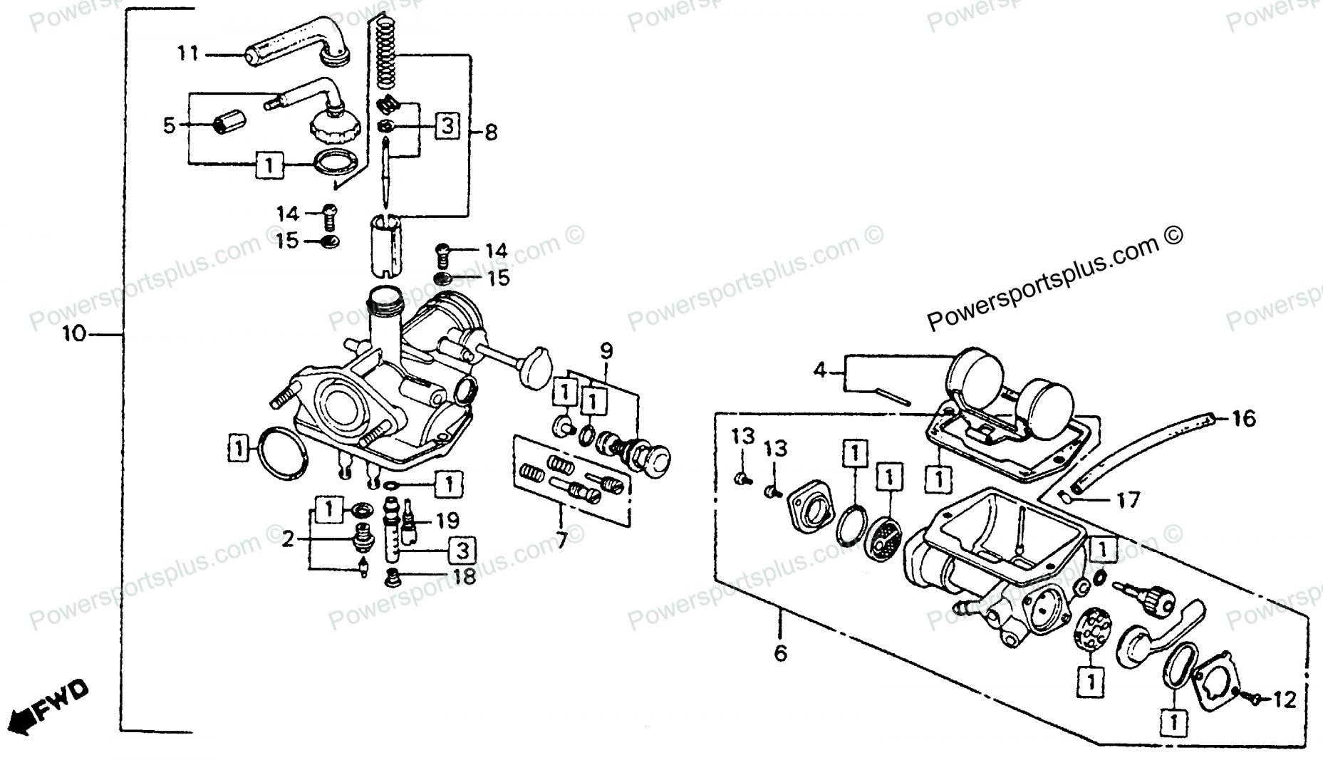 15+ Honda Motorcycle Carburetor Diagram | Honda motorcycle parts, Honda ( motorcycle), HondaPinterest