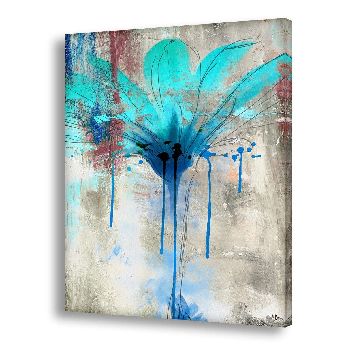 Ready2hangart U0027Painted Petals LIIu0027 Canvas Wall Art