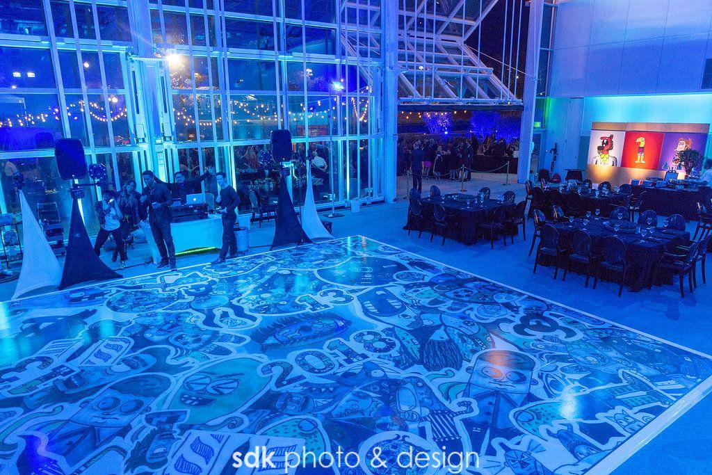 Custom Dance Floor Room Lighting Transformation Sdk