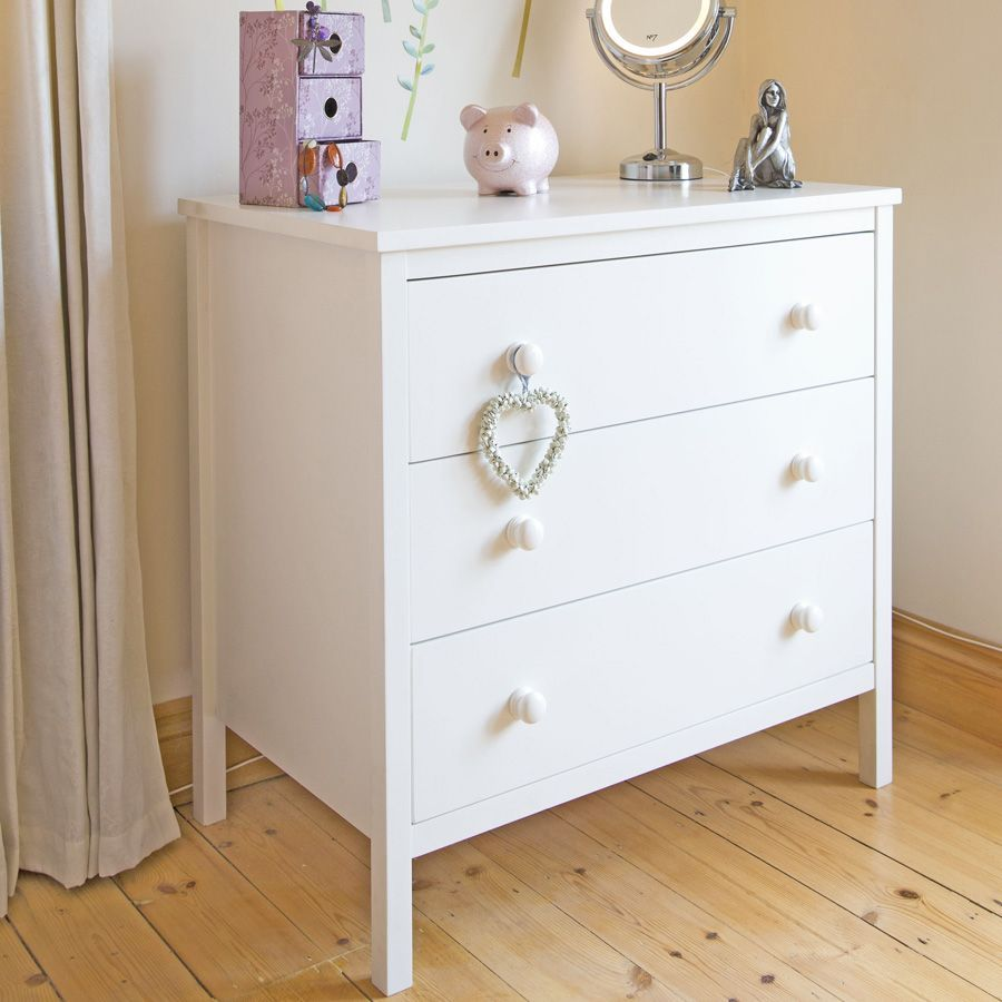 Sugar Spice Chest Of Drawers White