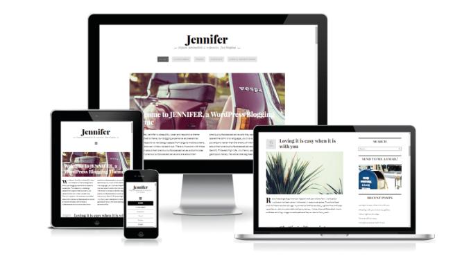 Jennifer: nuevo Tema WordPress para Blogs • SiloCreativo | Diseño ...