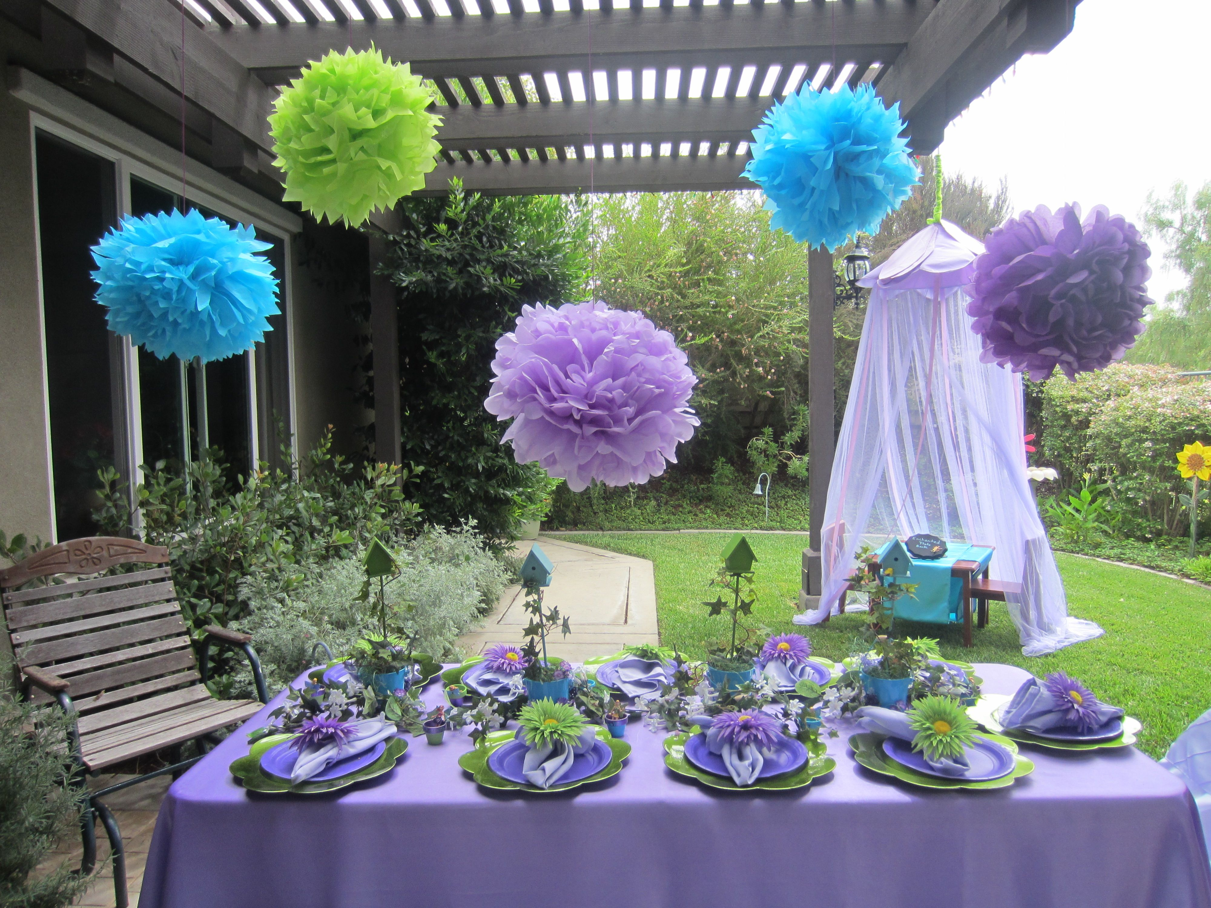 Enchanted Fairy Garden Party Party Time Pinterest