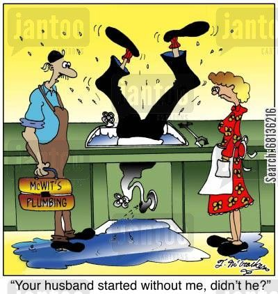 Your Husband Started Without Me Didn T He Plumbing