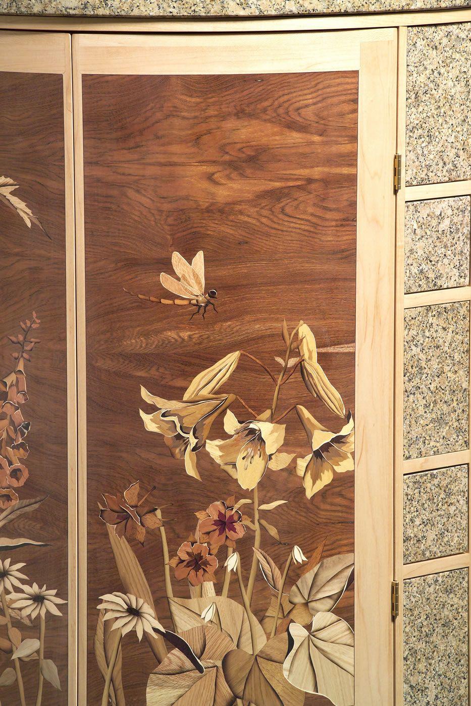 Details U2013 Silas Kopf Woodworking U2013 Inlaid Wood Marquetry Studio Furniture