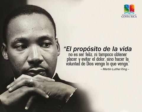 El Propósito De La Vida Martin Luther King Frases De Amor