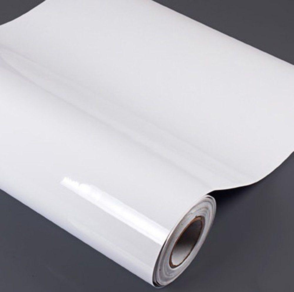 Waterproof High Gloss Glittery Vinyl Pearl White Self Adhesive ...