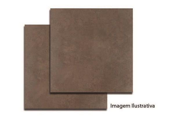 Porcelanato Cimento Marrom Ref.:73253 53x53cm - Porto Ferreira