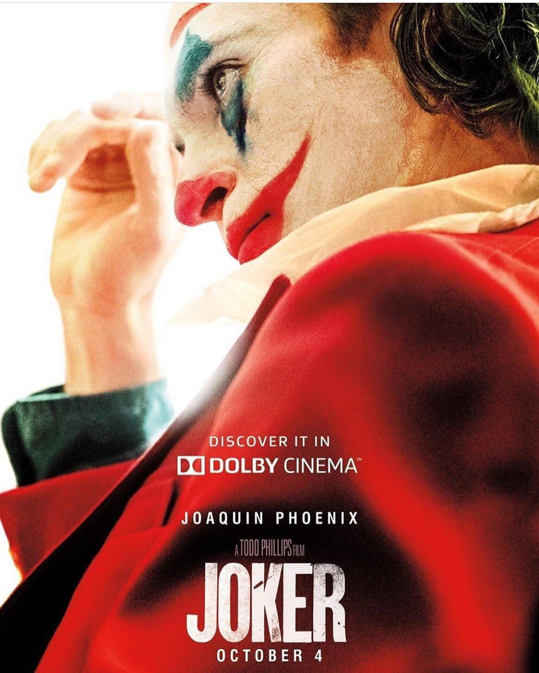 New New Promotional Movie Posters Joker Thejoker Jokercosplay Beforeandafter Makeup Joker Poster Joker Film Joker Full Movie