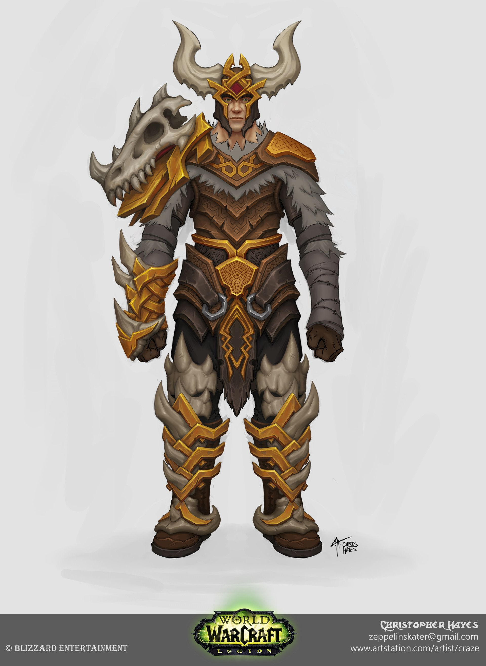 Artstation  Mail Set Concept For World Of Warcraft: Legion, Christopher  Hayes