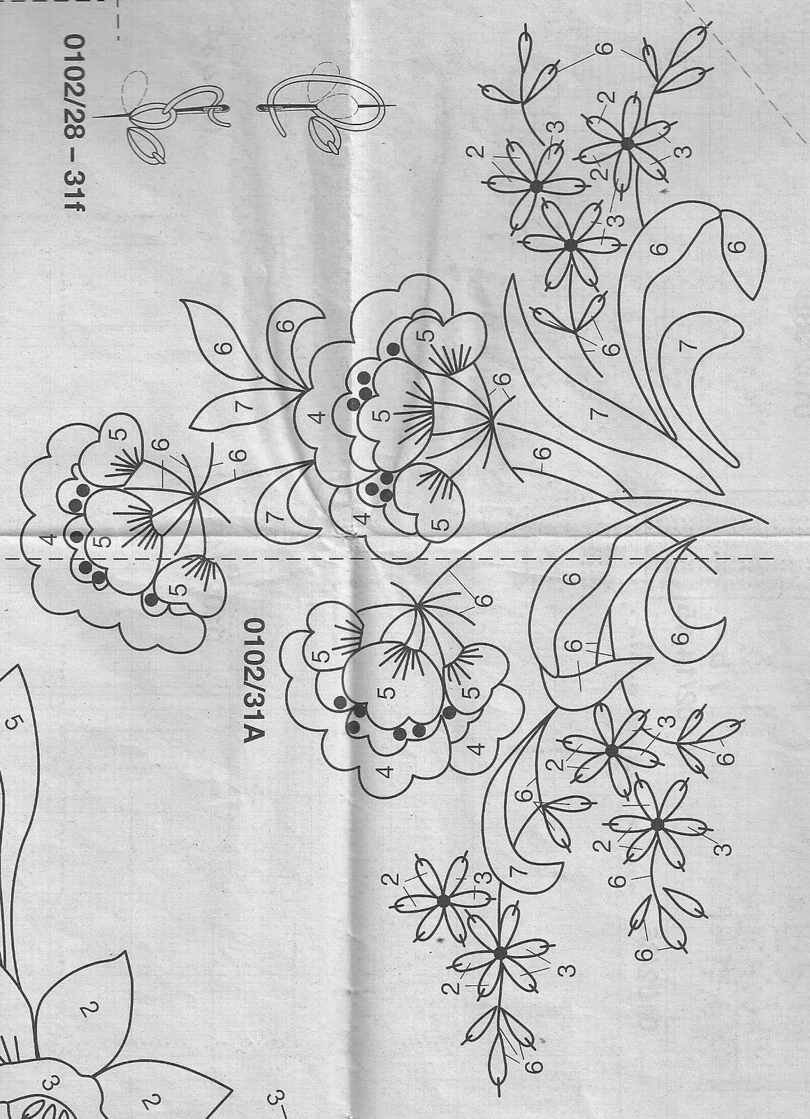 مفرش تطريز يدوي بالباترون من مجله Anna Magazine Handmade Embroidry With Pattern شغل ابره Needle Crafts Oya Ornekleri Crewel Embroidery Nakis Desenleri
