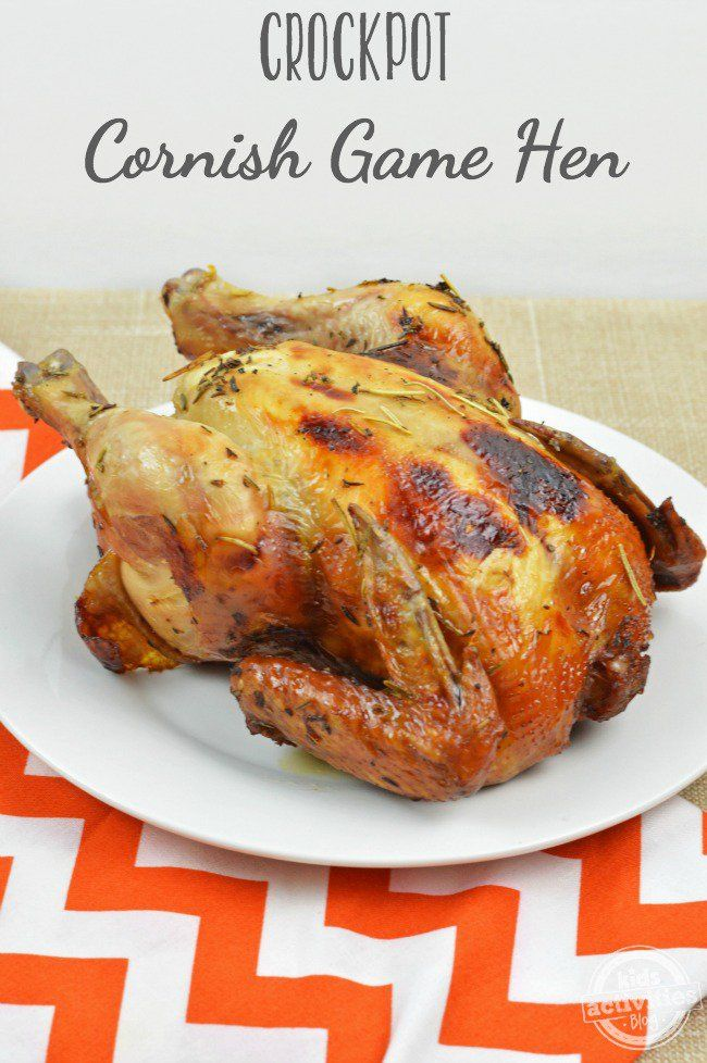 how to cook cornish hens in slow cooker