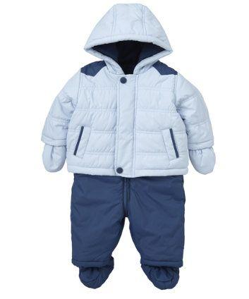 Children's Fashion. Mothercare Jacket And Salopette. £5 Off ALL Snowsuits until 4th February 2014. #ChildrensFashion #Kids #Children #GirlsFashion #Girls #Discount