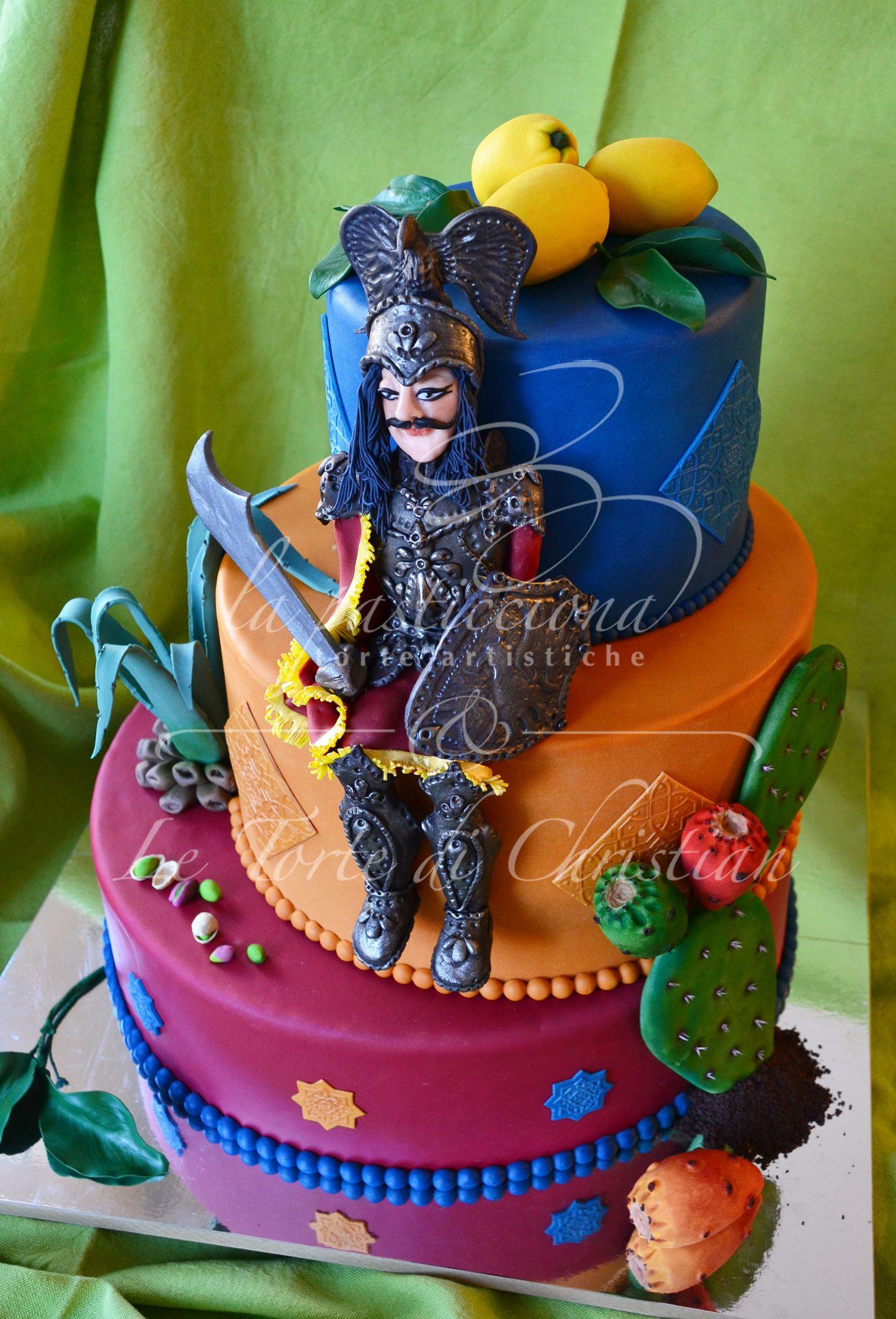 Sicilian cake made for the cake design magazine: Cake Design Cucina ...