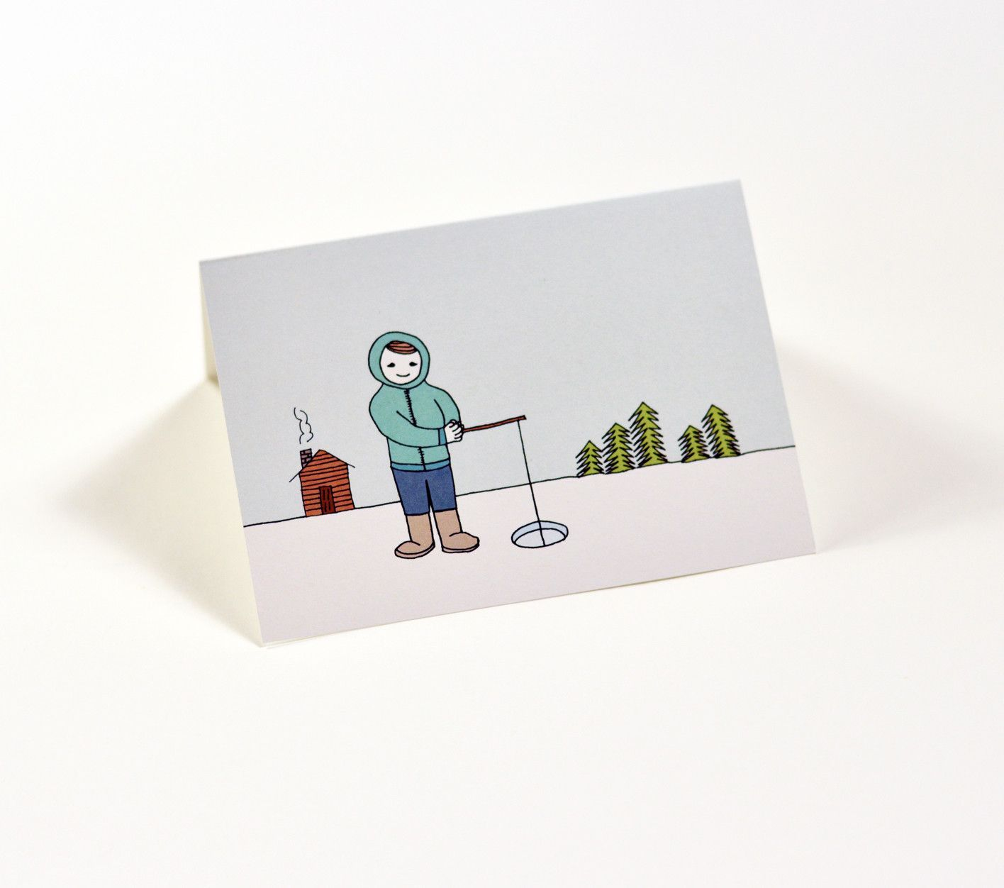 Ice fishing greeting cards by halle design ice fishing pinterest ice fishing greeting cards by halle design kristyandbryce Choice Image