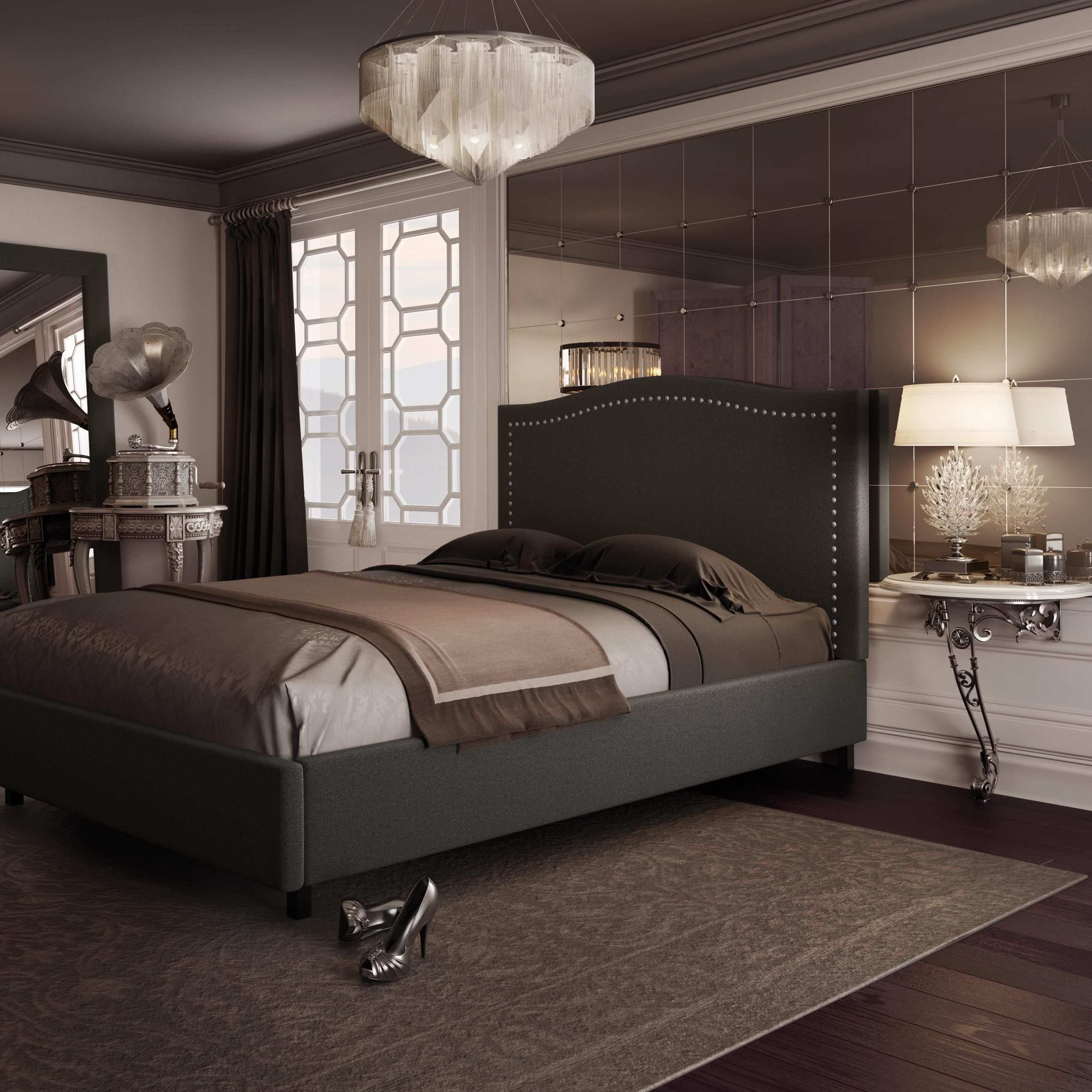amisco bridge bed 12371 furniture bedroom urban. AMISCO - Elegance Bed (12507) Furniture Bedroom Boudoir Collection Transitional Amisco Bridge 12371 Urban
