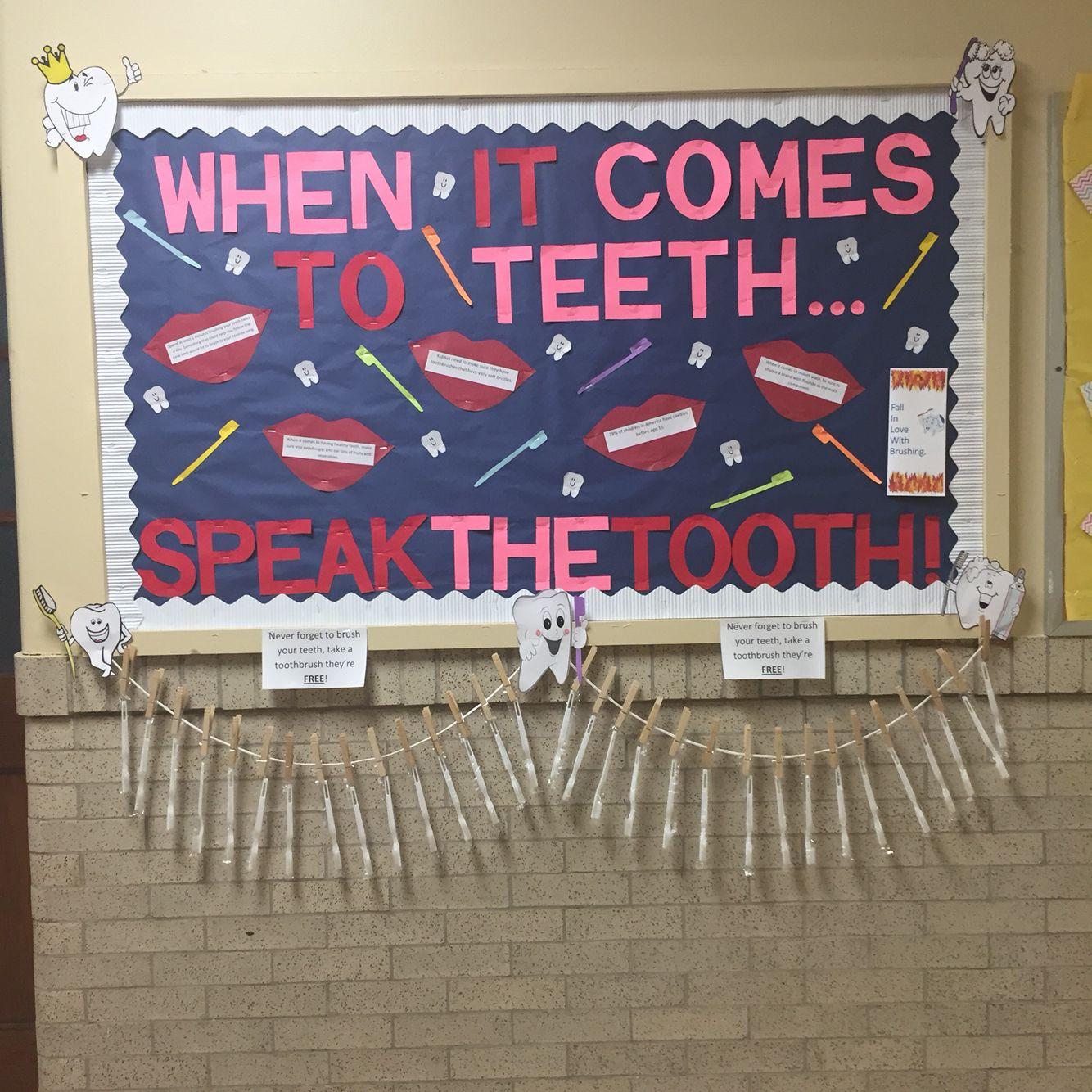 Bulletin Board Ideas Early Childhood: Created This Bulletin Board For Dental Health! Early