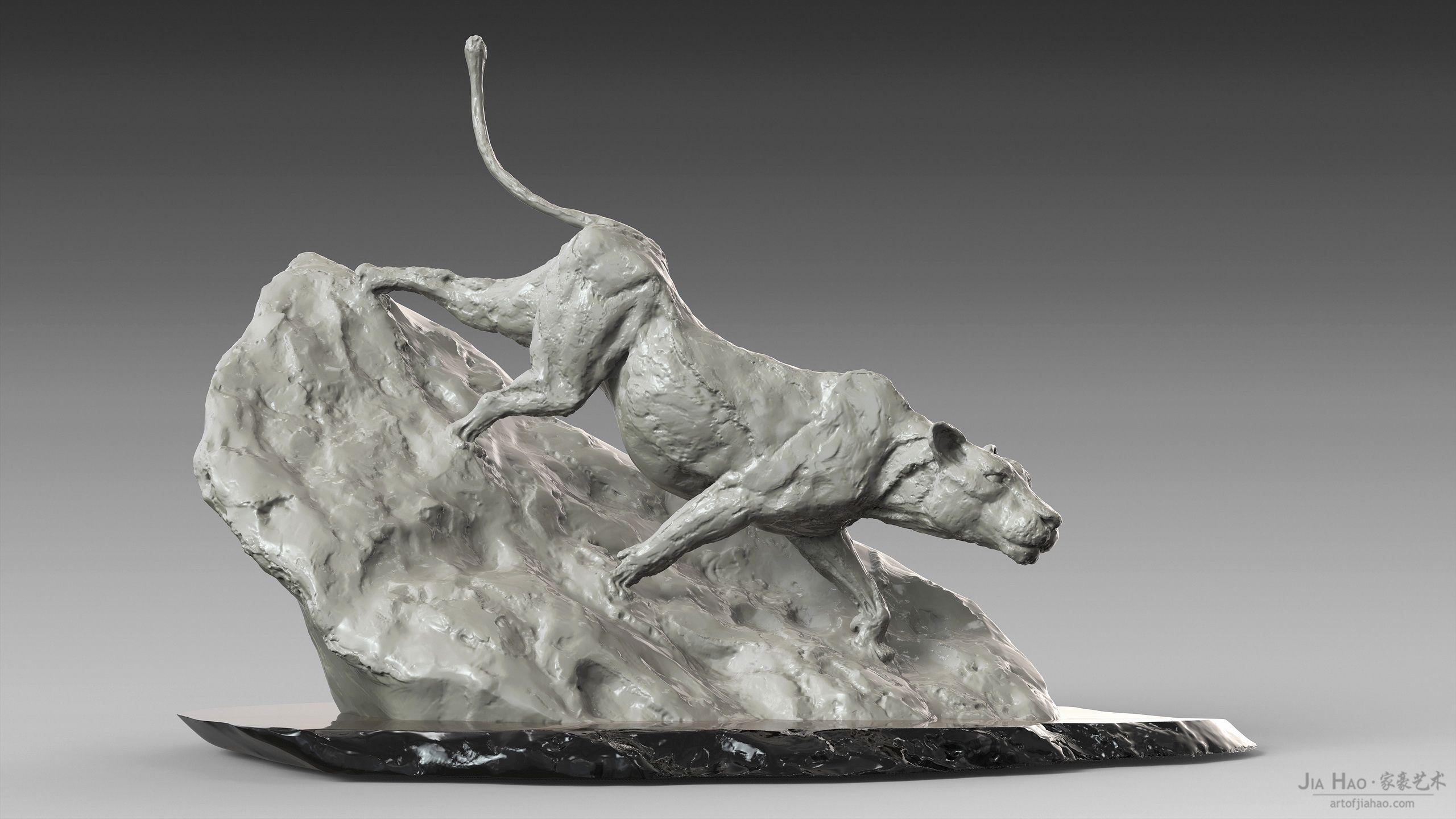 Lion Sculpture  #artofjiahao #jiahao #creature #character