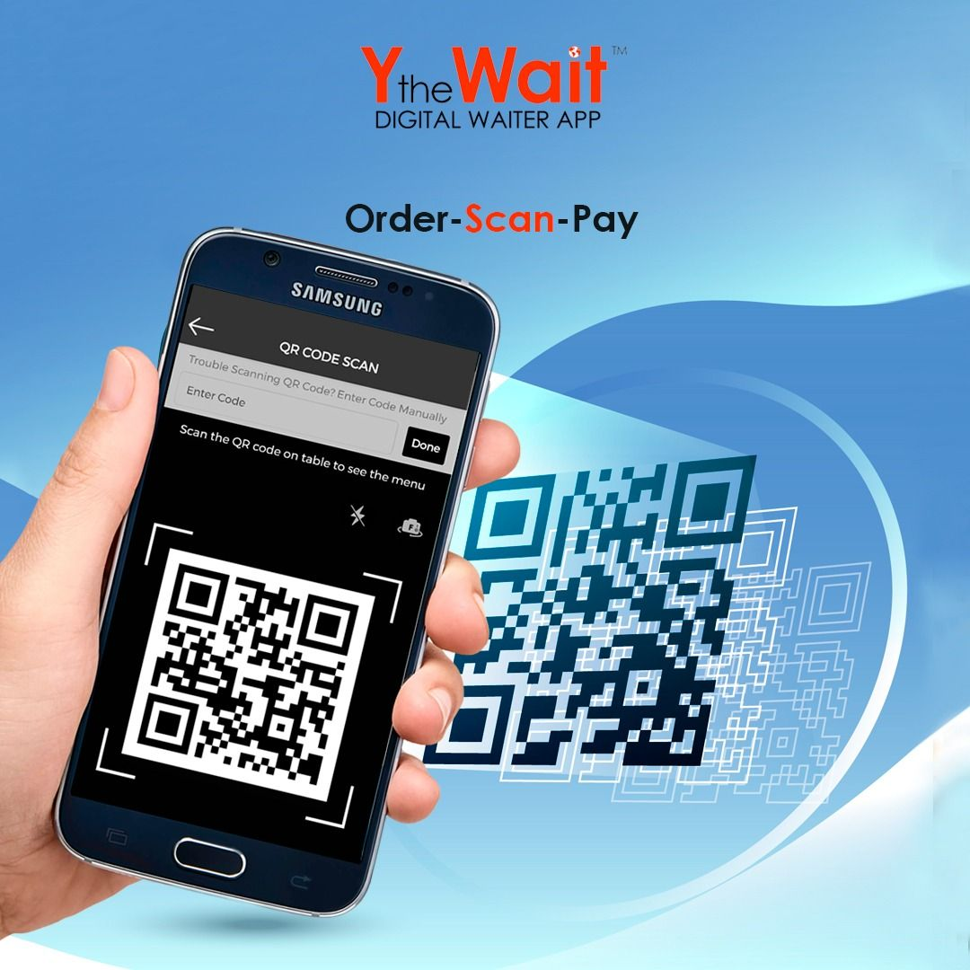 Order scan pay This decade experience the perks of dining at smart restaurants Just scan the QR code place your order and pay with Y the Wait
