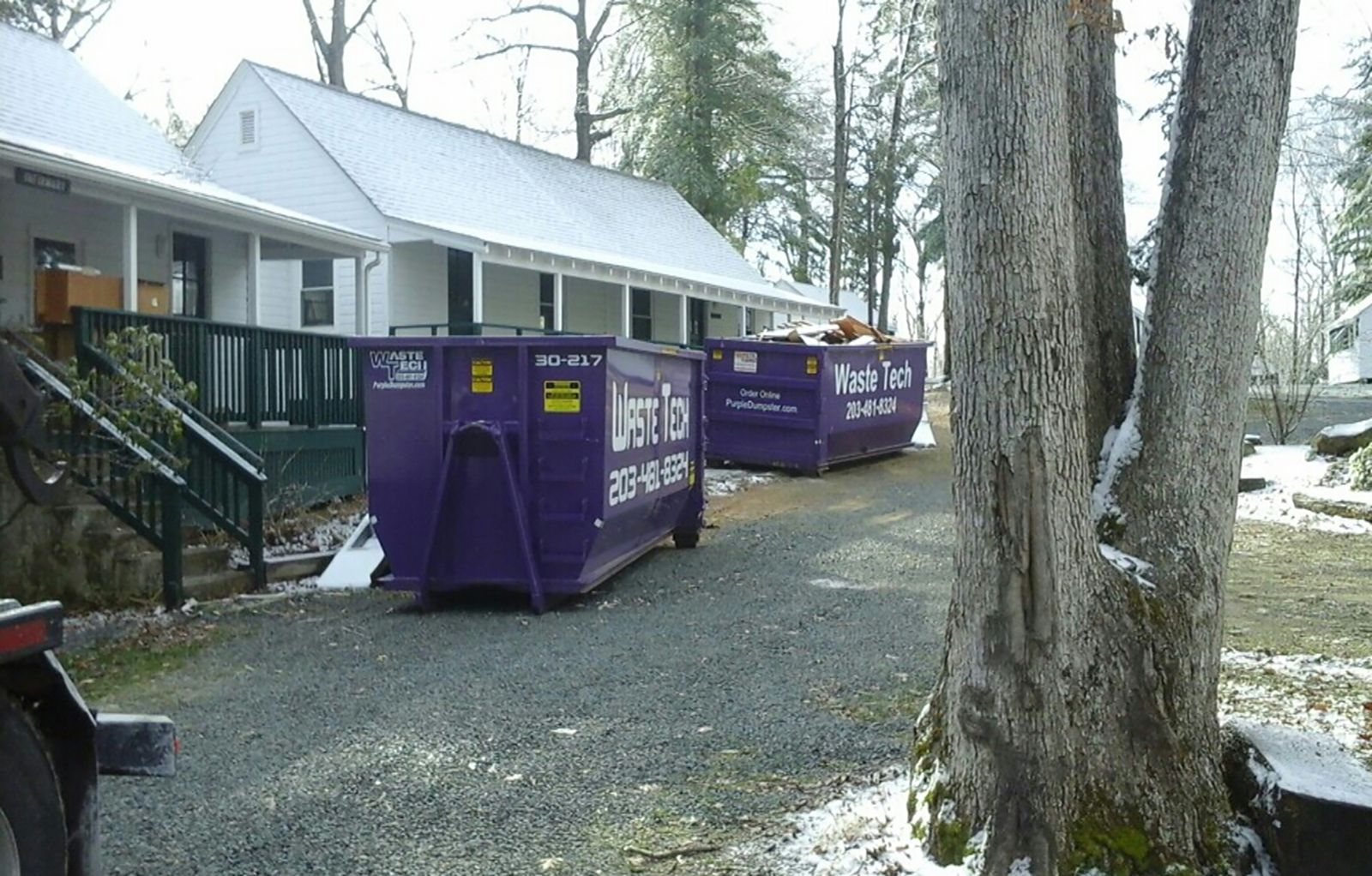 Dumpsters for remodeling job in madison ct dumpsters