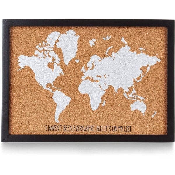 Brown world map cork board 18 liked on polyvore featuring home brown world map cork board 18 liked on polyvore featuring home home gumiabroncs Images