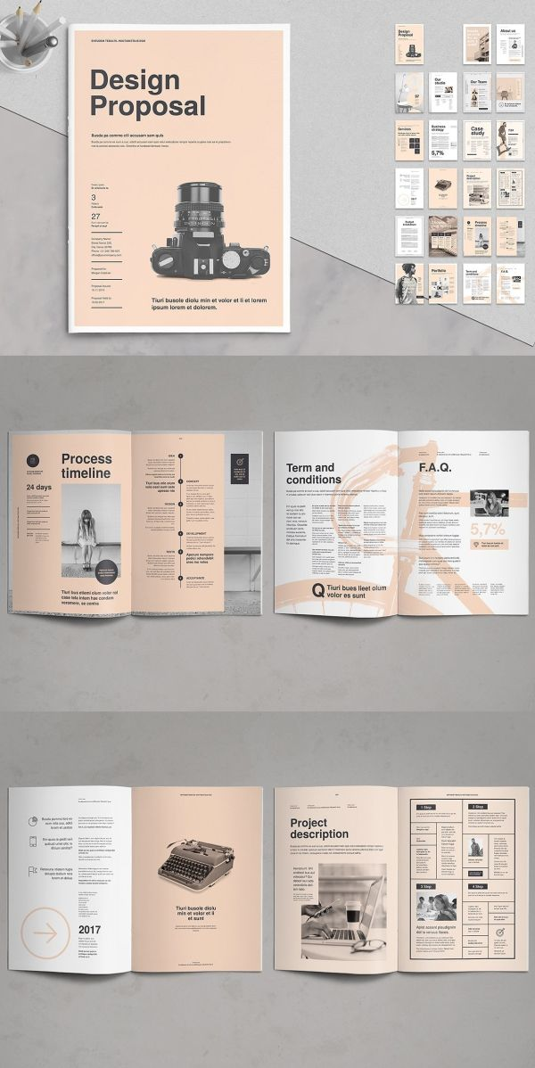 30+ Proposal Templates for Adobe InDesign - Visual Arts & Identity