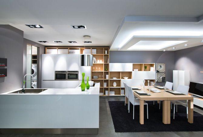 Cuisine Ouverte Style Hiving EMK Construction Pinterest - Cuisine ouverte sur salle a manger photos