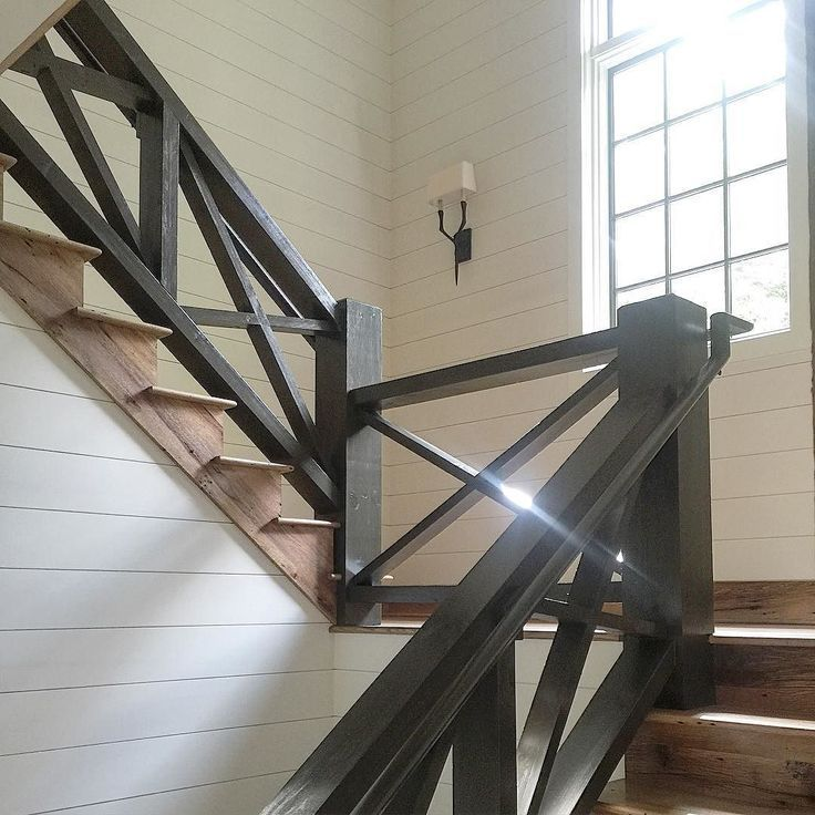 Best Modern Rustic Rustic Stairs Wood Railings For Stairs 400 x 300