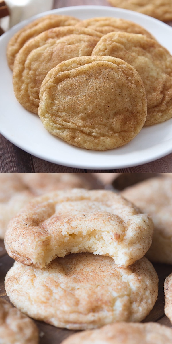 #chewy #RAVE #Recipe #Snickerdoodle #Snickerdoodles #Soft Snickerdoodles - The BEST soft and chewy Snickerdoodle recipe! These get RAVE reviews every time and they are so eas - #Beef #Chocolates #Desserts #GlutenFree