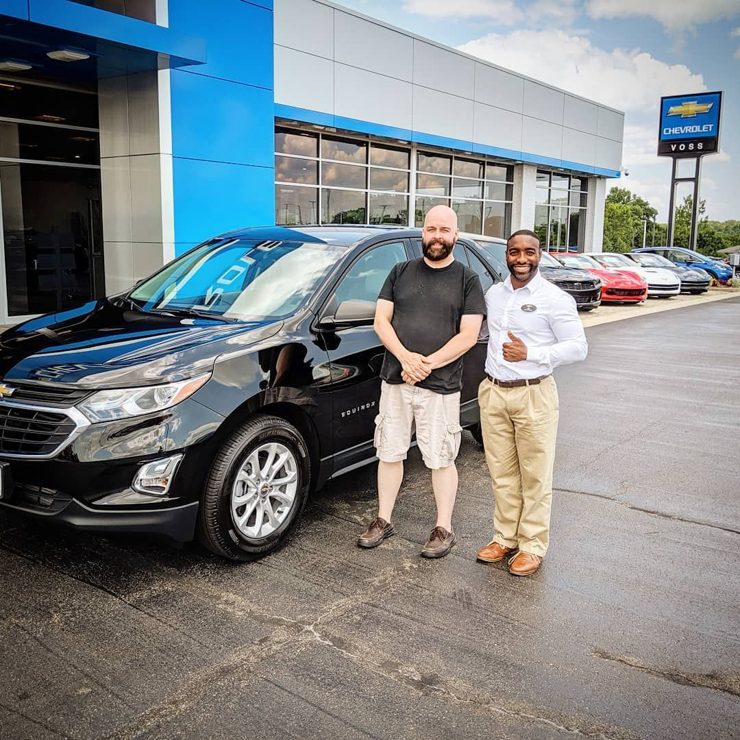 Rick Started His Weekend Out Well By Becoming A Proud Owner Of His Very Own 2019 Chevrolet Equinox Glistening In That Chevrolet Equinox Chevy Jeep Gladiator