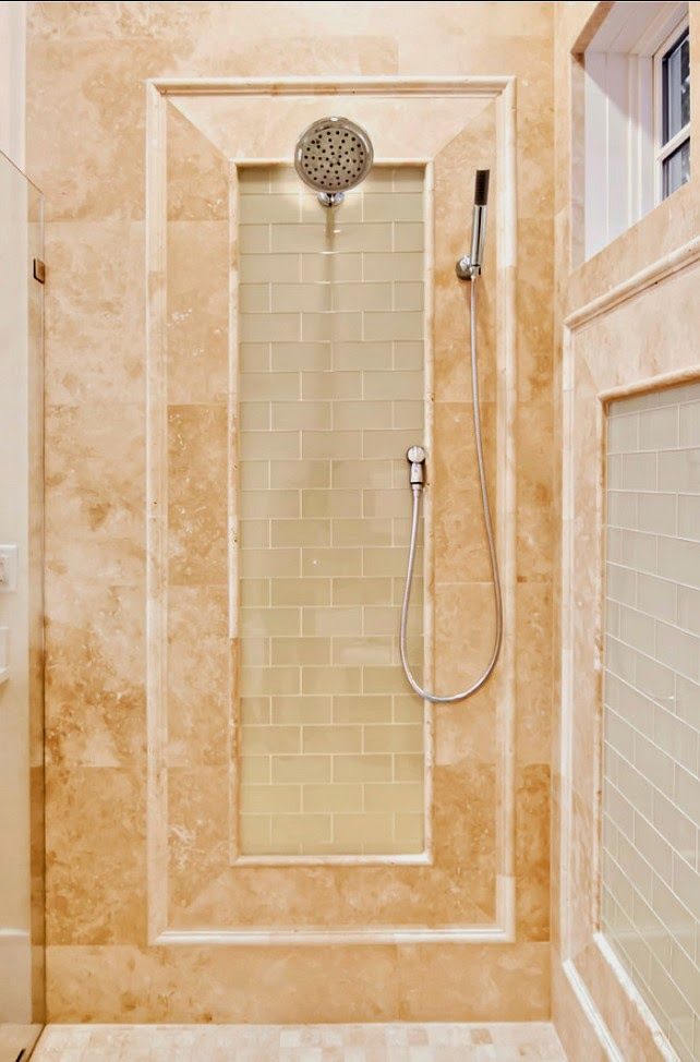 New Home Interior Design Key West Vacation Home: Beach House Bathroom, Shower Tile, Beach House