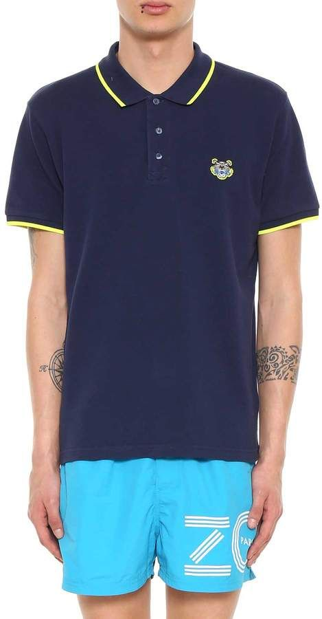 0a9377c0e3 Kenzo Navy Blue Polo From | Products in 2019 | Polo, Mens tops, Polo ...