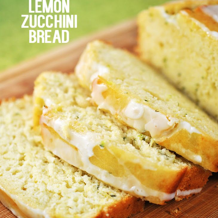 Buttermilk Lemon Zucchini Bread Recipe Breads With All Purpose Flour Baking Powder Salt Eggs Canola Oil Suga Lemon Zucchini Bread Lemon Recipes Recipes